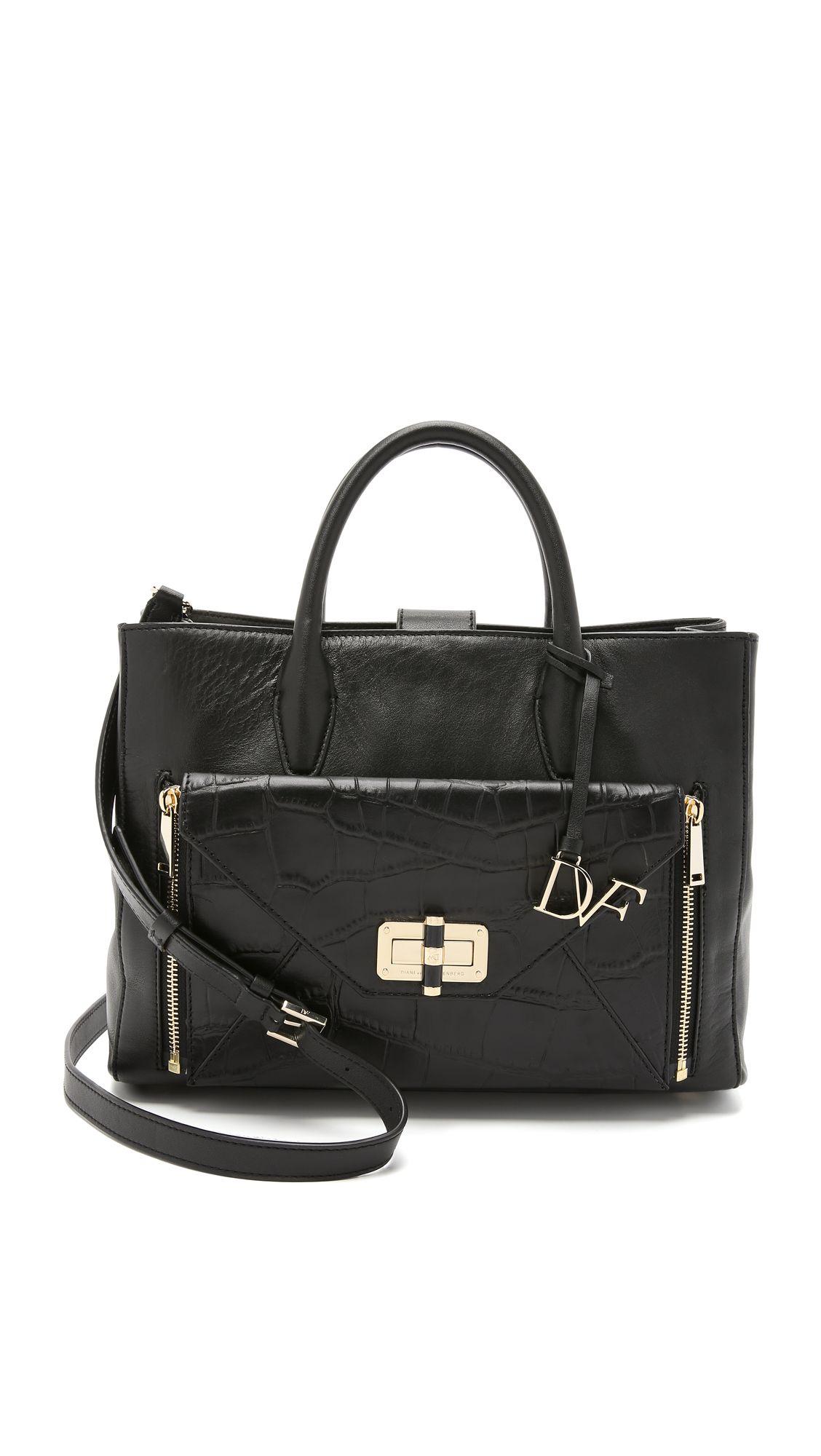 Diane Von Furstenberg 440 Gallery Large Secret Agent Tote Dianevonfurstenberg Bags Shoulder Hand Leather