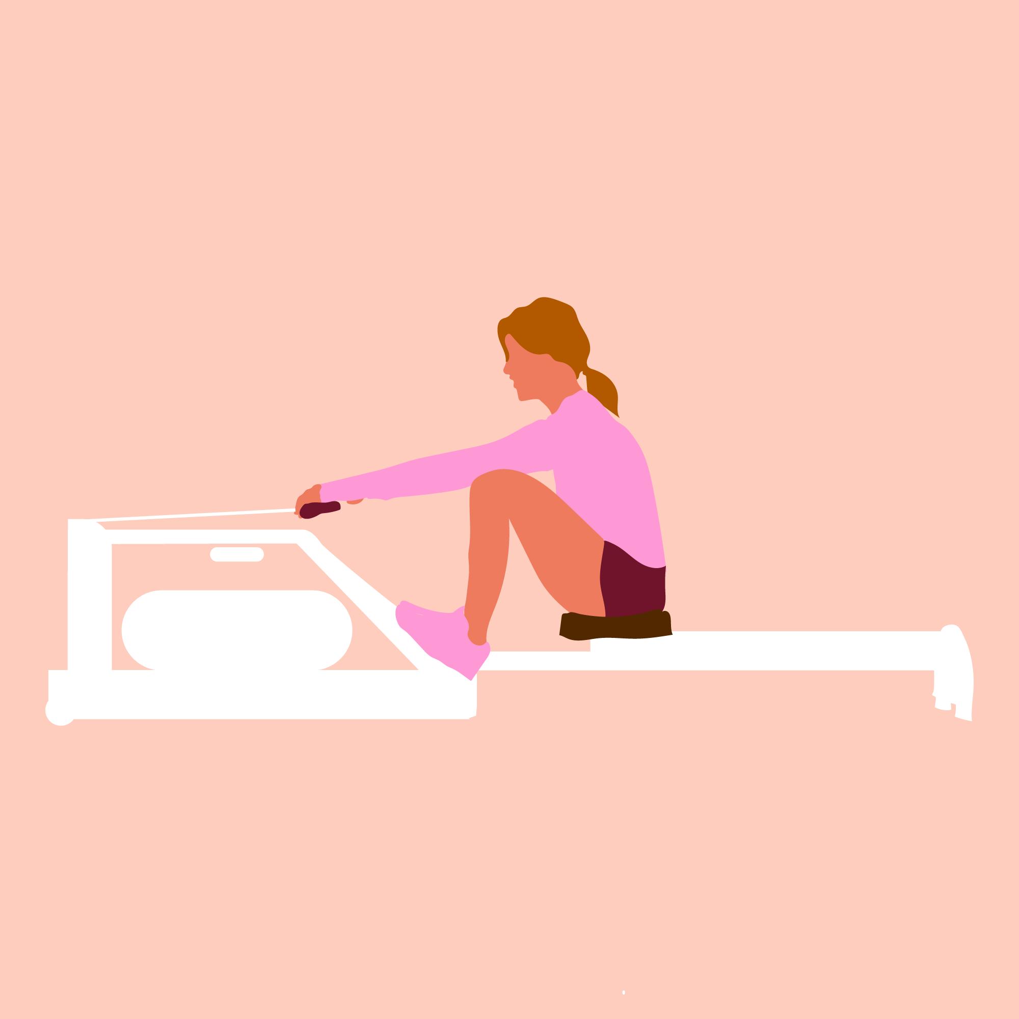 Indoor Rudern Gewichtsverlust Blog