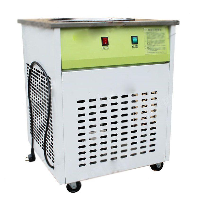 16KG/H Ice Pan machine,Fried ice cream machine, one pan ...