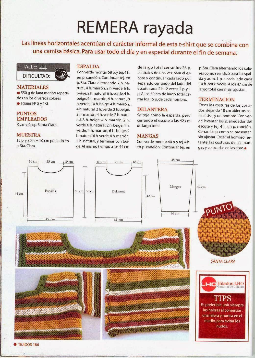 Pin de Rosita en tejidos | Pinterest | Punto, Patrones y Tejidos