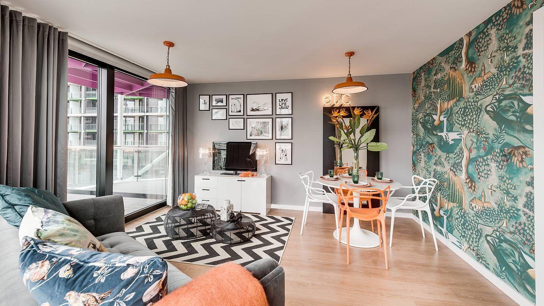 Suna Interior Design | Show Homes | Viridian Housing Riverlight Living Room  Inspiration Interior Design