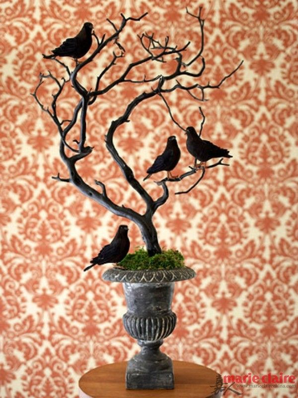 via BHG, Halloween Decor Ideas via House of Hargrove Lots of fun - halloween decoration ideas home