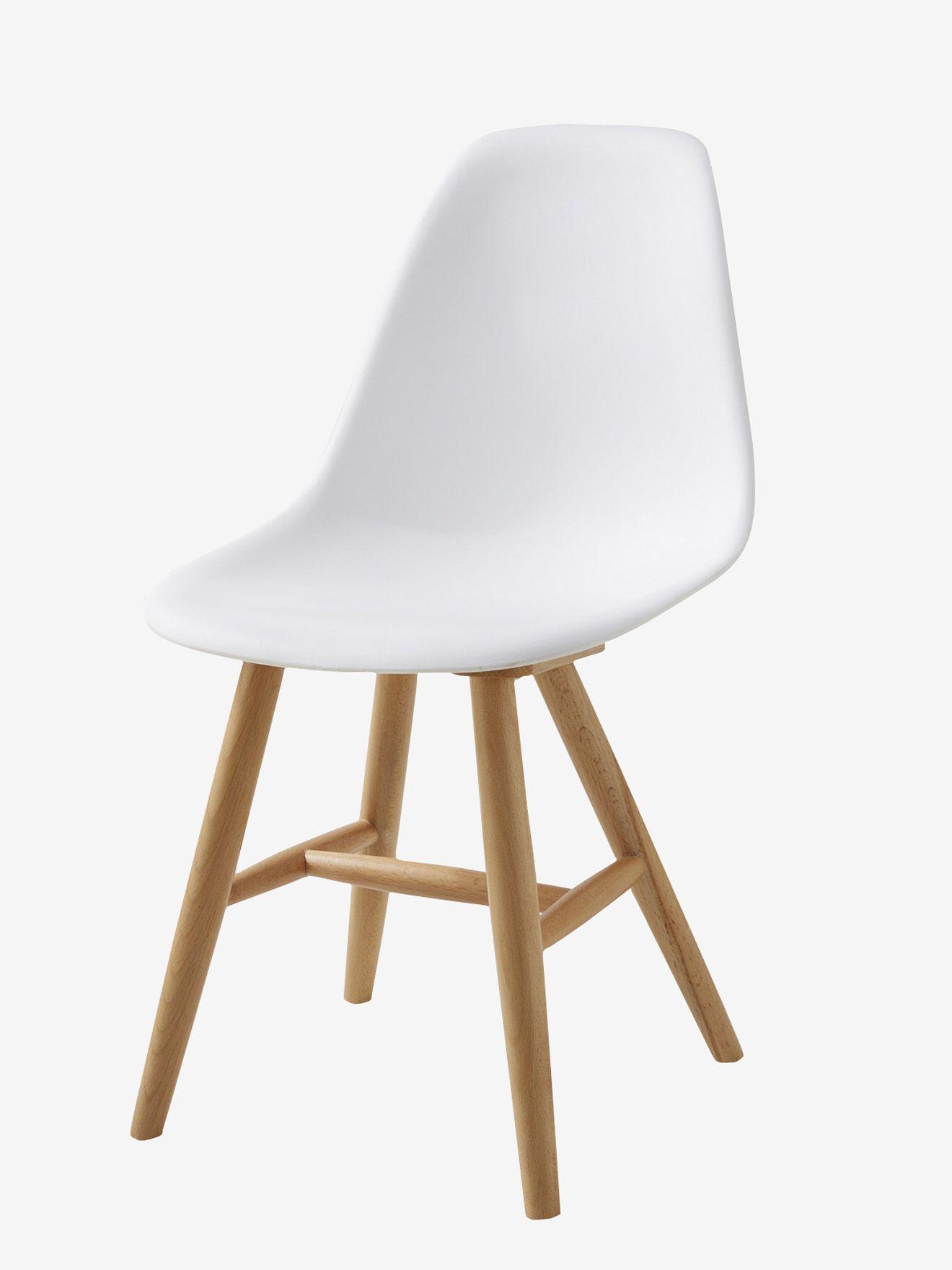 Luxury Niedriger Kinderstuhl aus Holz von Vertbaudet in wei Nur uac Versand Kinderzimmer jetzt bei Vertbaudet bestellen
