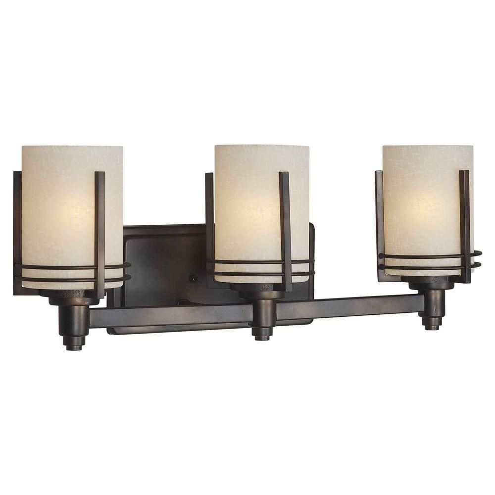 Talista Ethan 3 Light Antique Bronze Bath Vanity Light With Umber Linen Glass With Images Vanity Lighting Wall Lights Wall Ceiling Lights