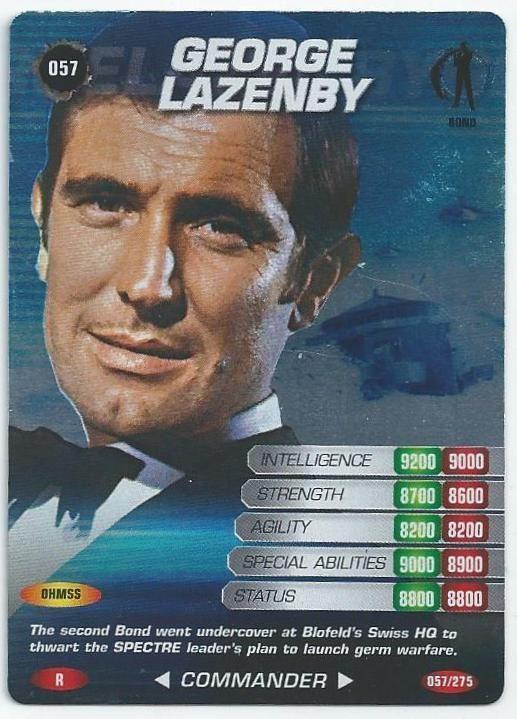 2008 James Bond 007 Spy Cards Rare - Dr 095 Kananga
