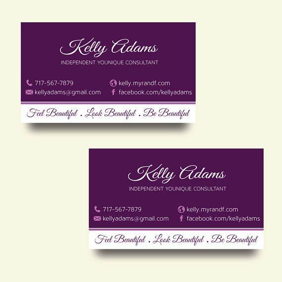 Younique Business Cards Elegant Younique Personalized Younique Business Cards Business Cards Elegant Digital Business Card