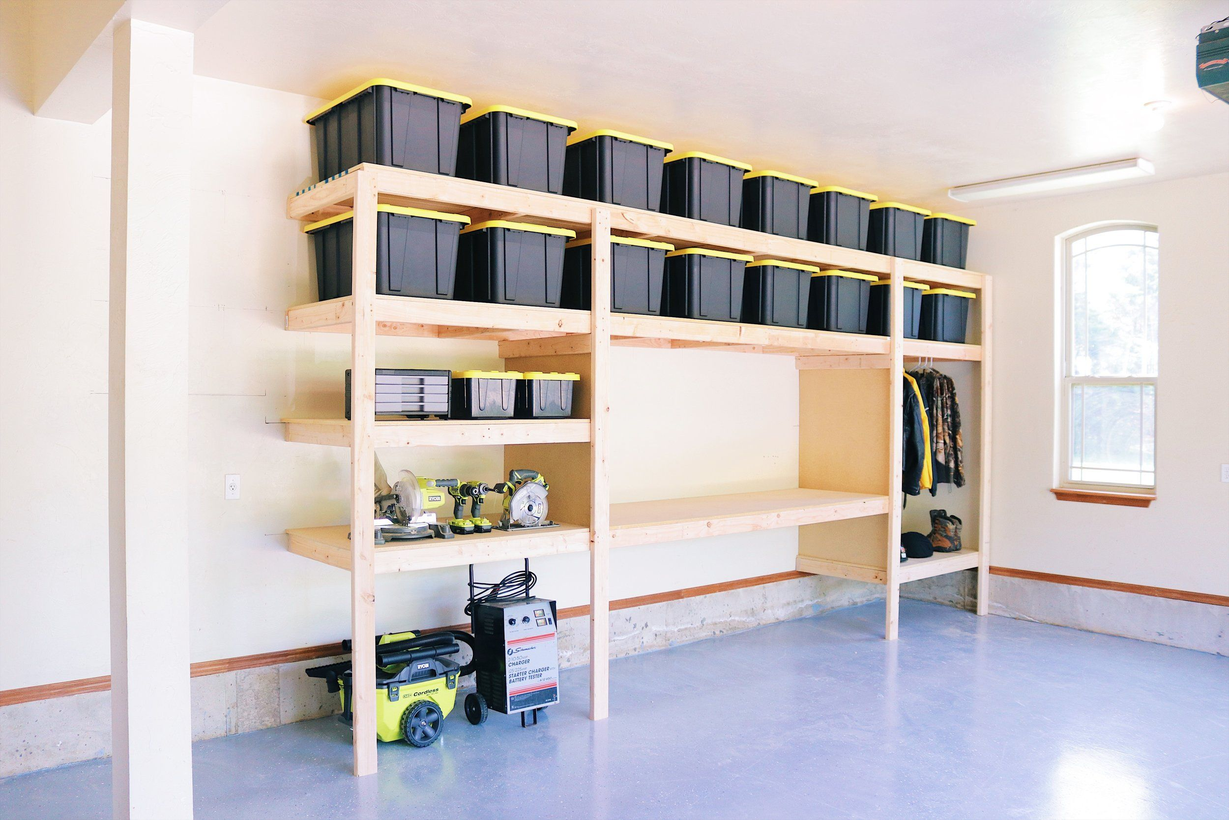The Ultimate Garage Storage Workbench Solution Free Plans By