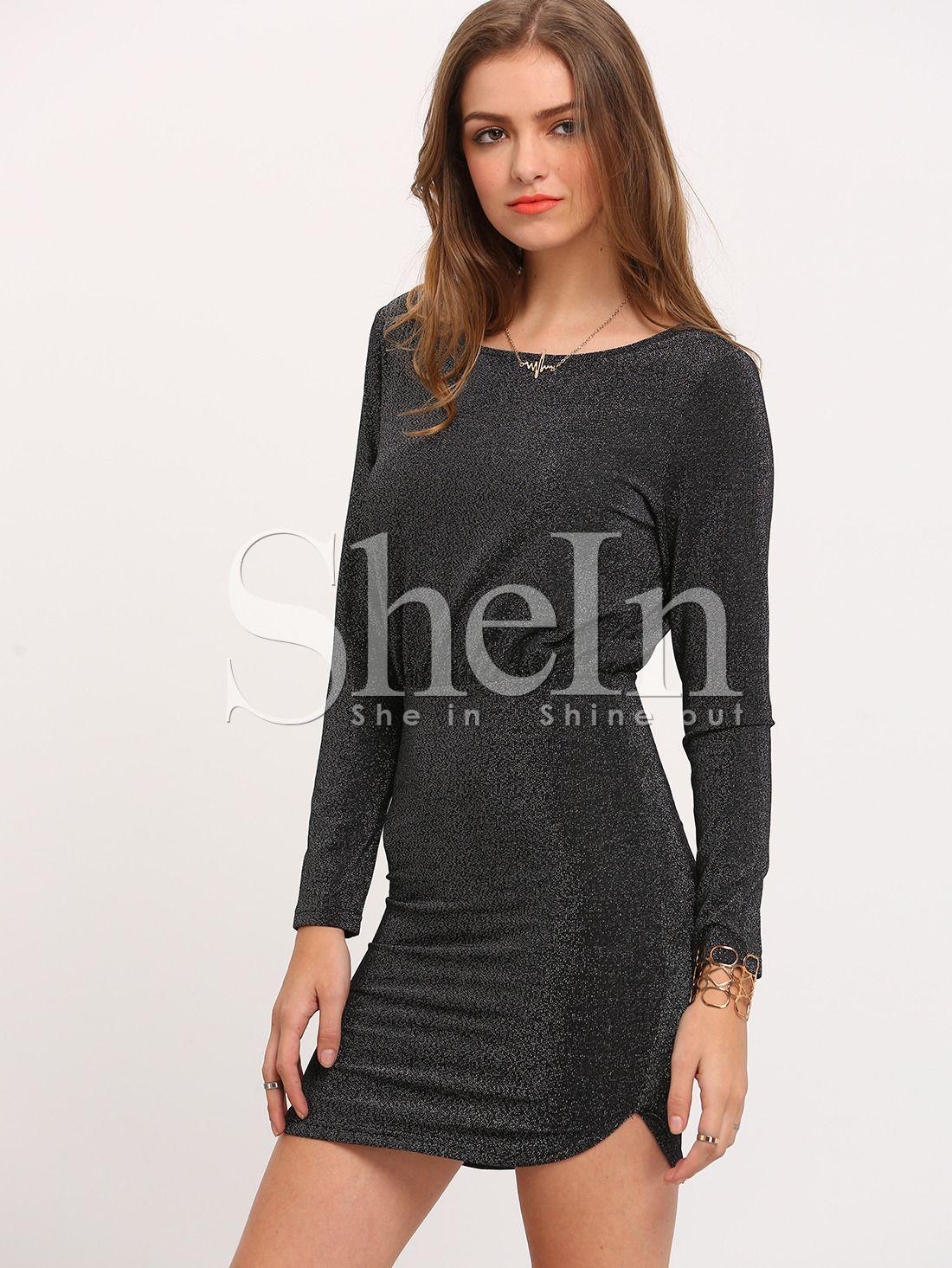 2ec9549ee2 Lipsy Sequin Long Sleeve Bodycon Dress