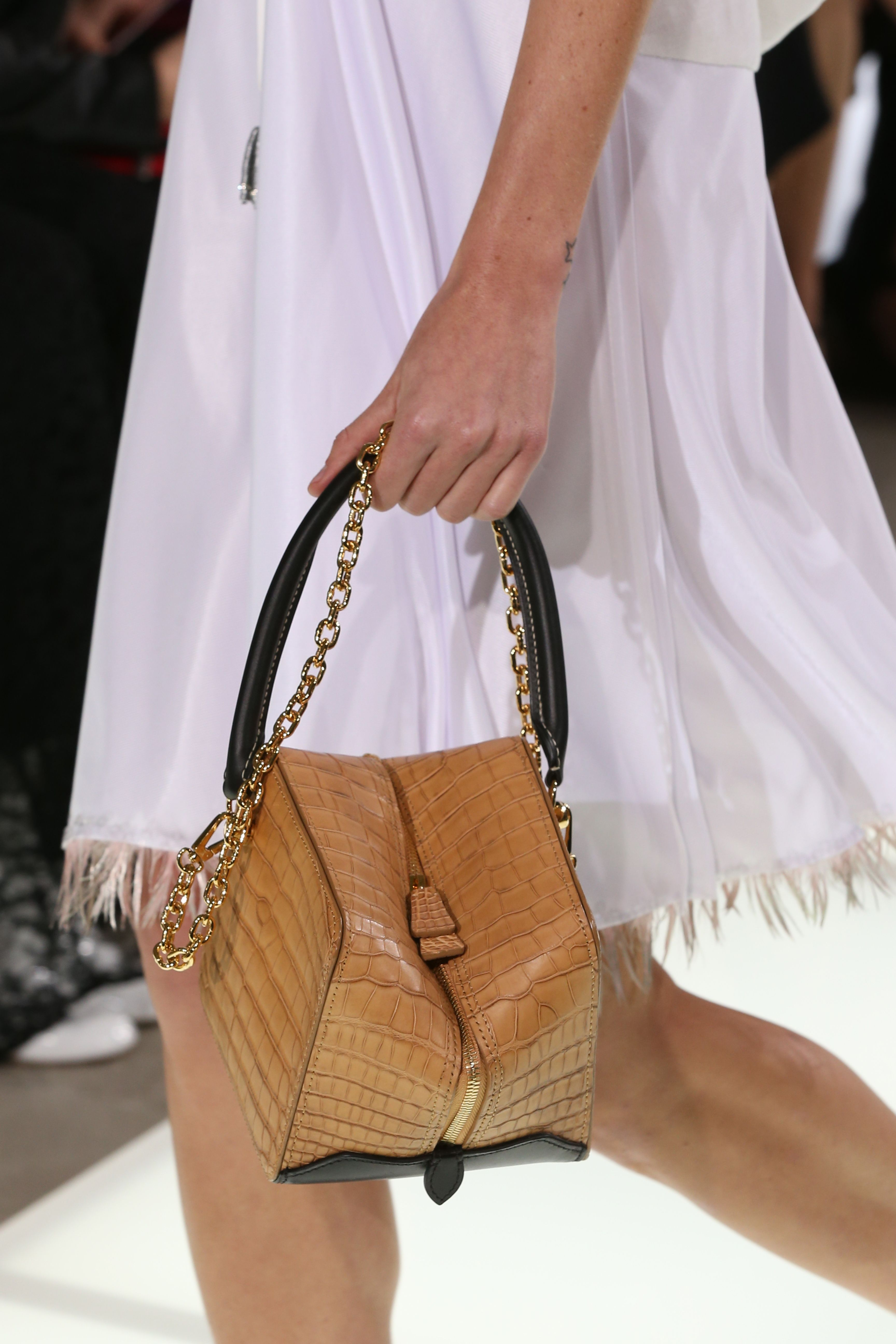 4f05fd32eeb0 A bag from the Louis Vuitton Spring-Summer 2018 Show by Nicolas Ghesquiere.  Watch the show now at louisvuitton.com.