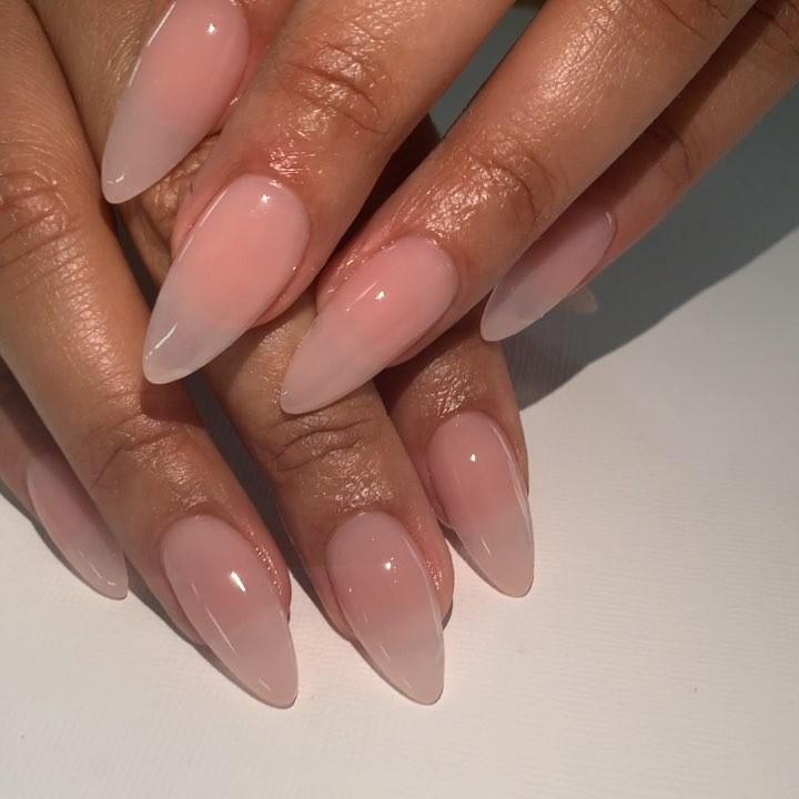 "TXnailsandspa on Instagram: ""Sexy almond nails #houstonnails #almondnails #classynails #nailsofinstagram #nails_page #nailitdaily #nailpro #nailsnailsnails #nailsinc…"""