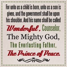 christmas scripture verses - Google Search | Christmas DIY ...