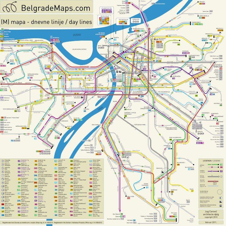 info mapa beograda Mapa Beograda | Najbolji grad na svetu : Beograd | Pinterest  info mapa beograda