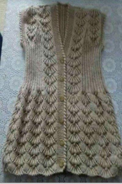 2017-en-moda-bayan-yelekleri-4 #crochetsweaterpatternwomen
