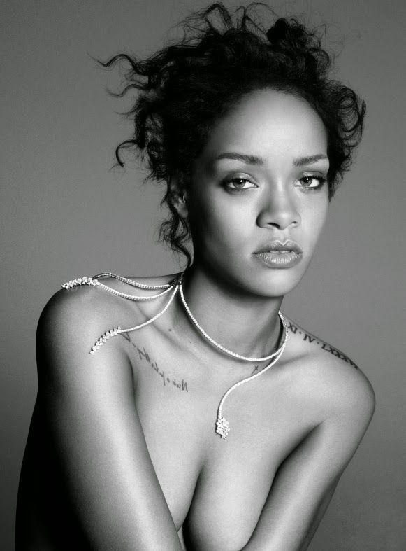 Rihanna by Paola Kudacki for Elle US December 2014