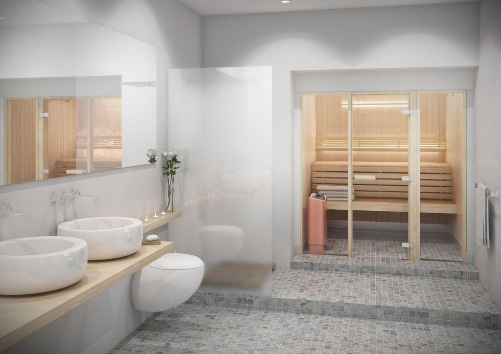Ga je voor een sauna in de badkamer? Dan heb je de keuze uit ...
