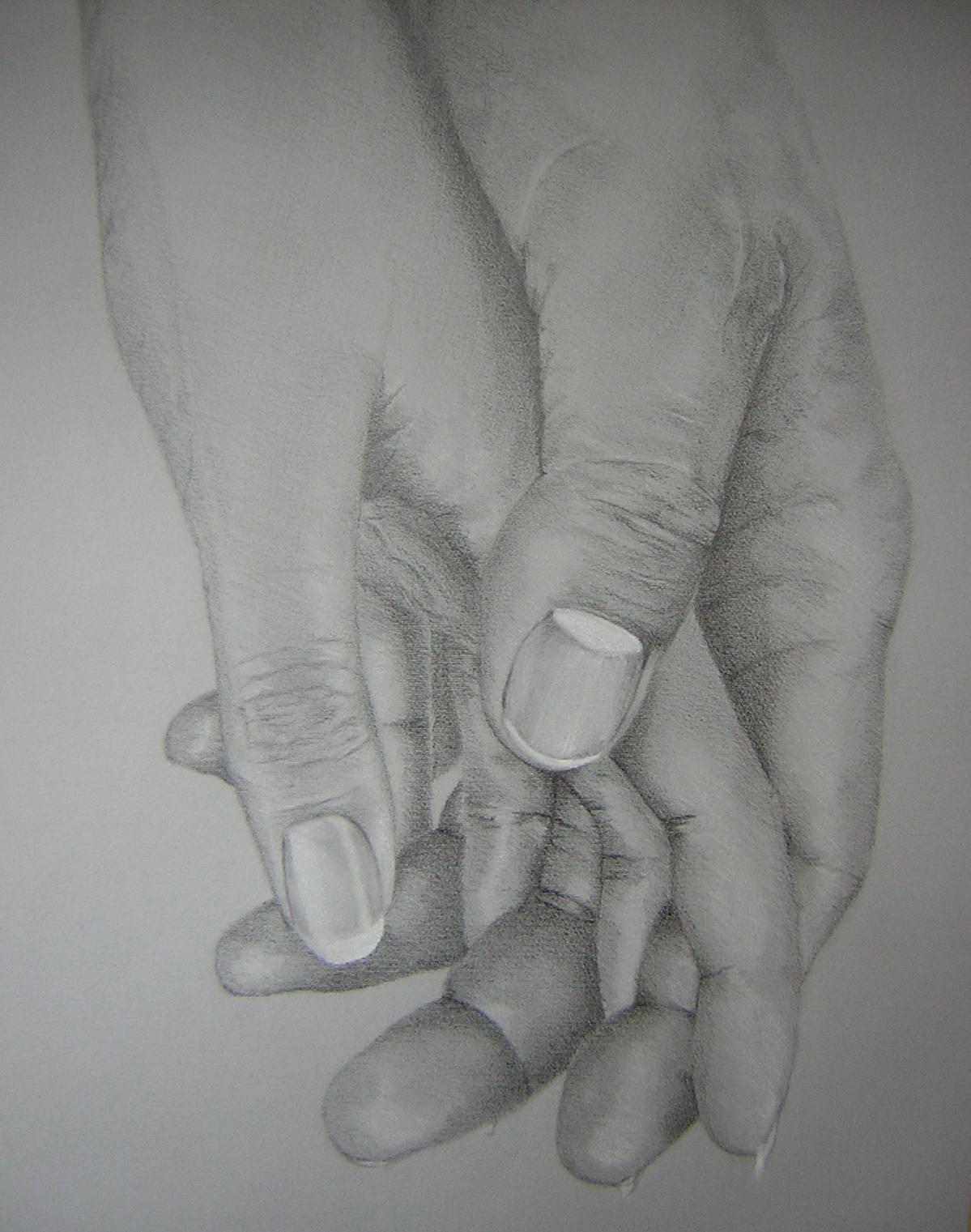 Pidä mua kädestä kiinni hellästi...