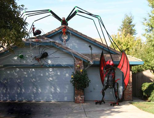 This House Is In Rocklin Its An Annual Tradition To Visit For Our