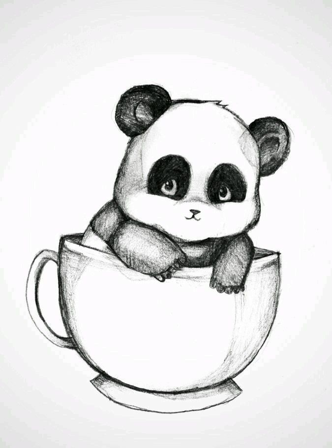 Dibujos A Lapiz Pesquisa Google Dibujo Drawings Panda Drawing