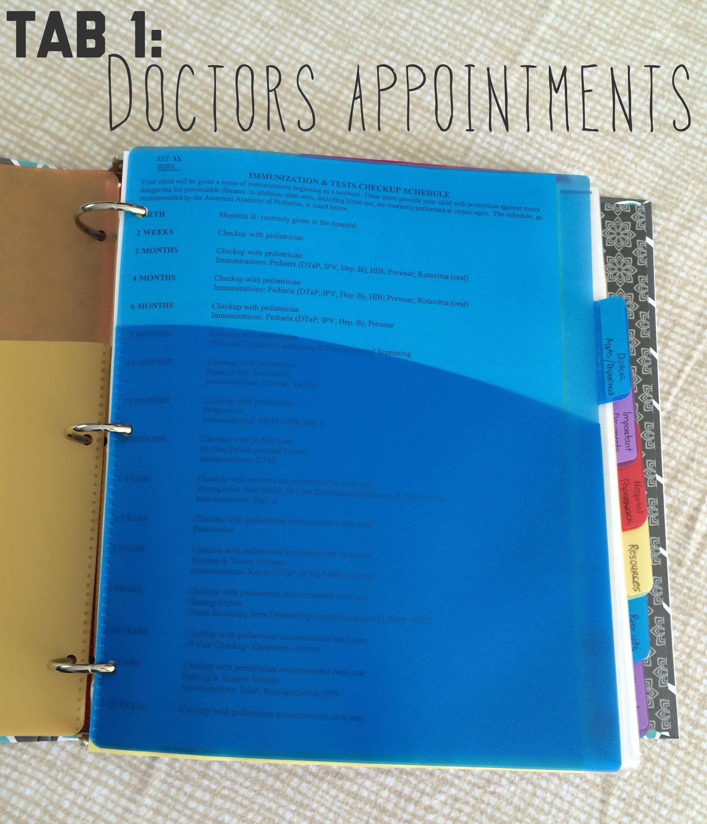 #organizational #important #documents #organize #binder #babys #baby #yourorganizational baby binder- organize your baby's important documents #BabyCareParenting #importantdocuments