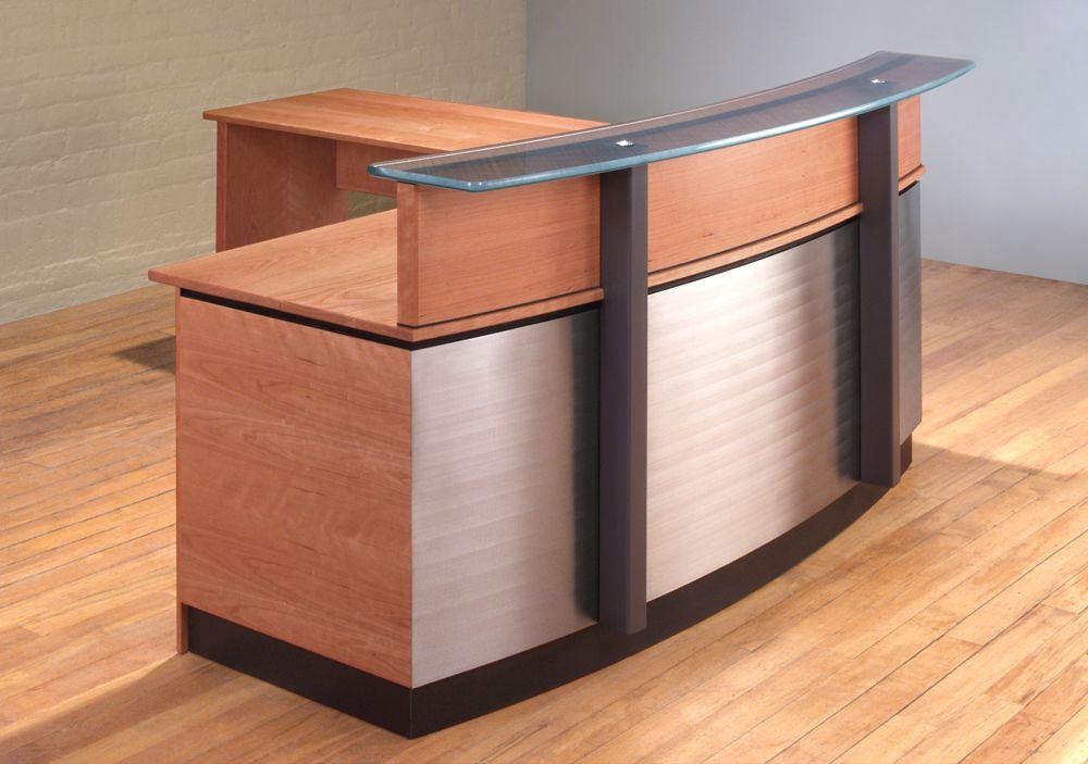 front desk furniture design. stainless steel reception desk lshaped front furniture design i