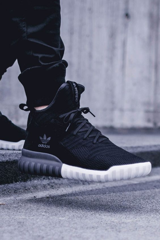 finest selection 9a857 5691c Adidas Originals Tubular X PK Sneakers In Black BB2379