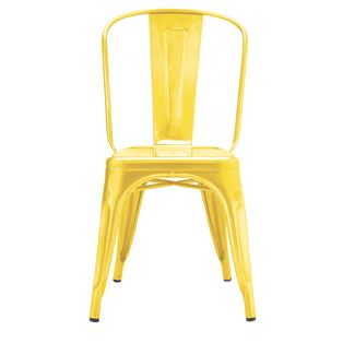 Yellow Metal Chair