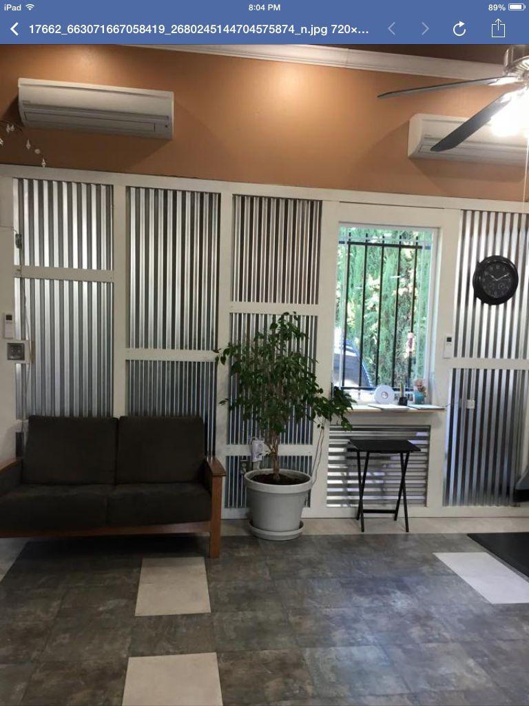 Corrugated metal interior wall. | Home, Interior walls ...