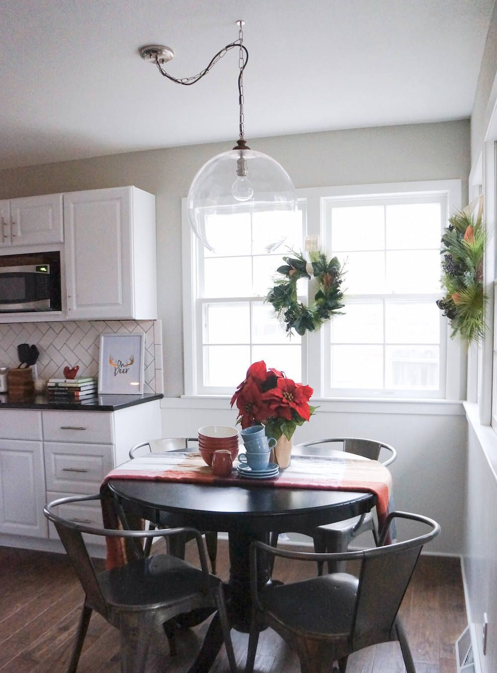 How To DIY Sphere Chandelier From A Glass Bowl   Kitchen ...