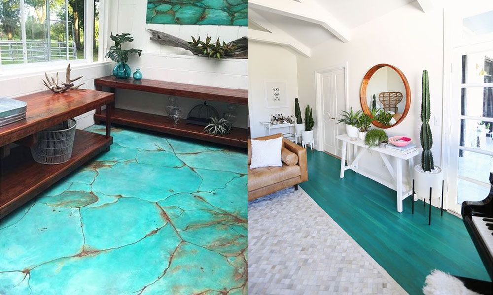 Different Types Of Turquoise Floors To Try In Your Home Flooring