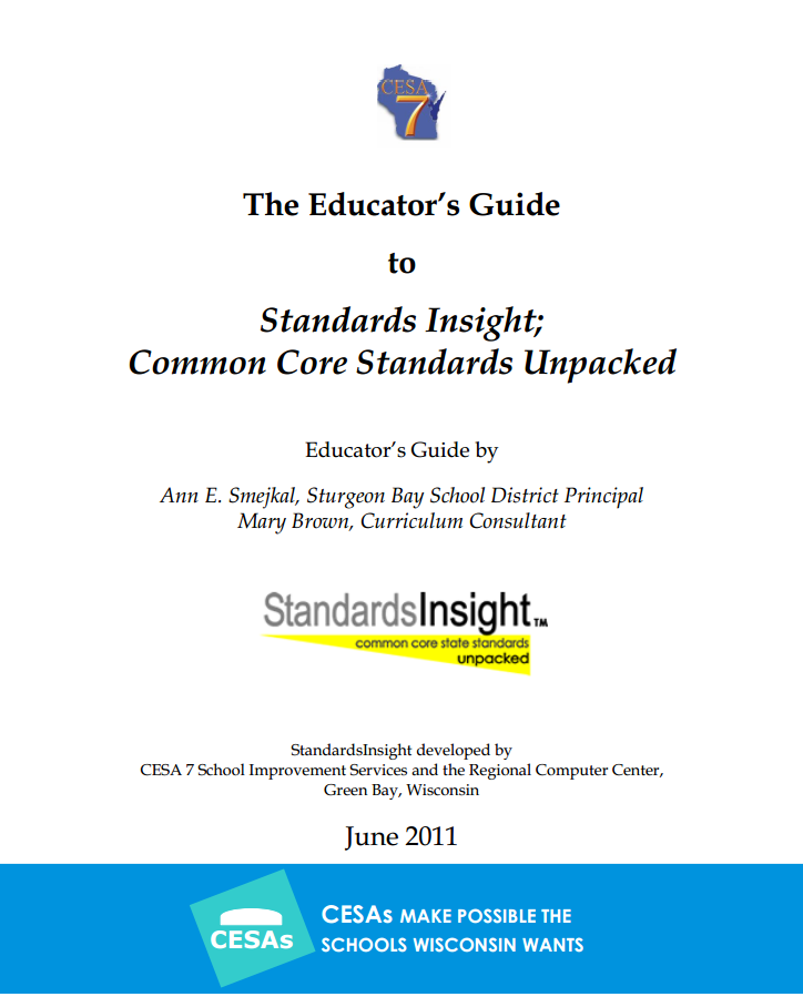 Cesa7org Rcc Documents TheEducatorsGuide
