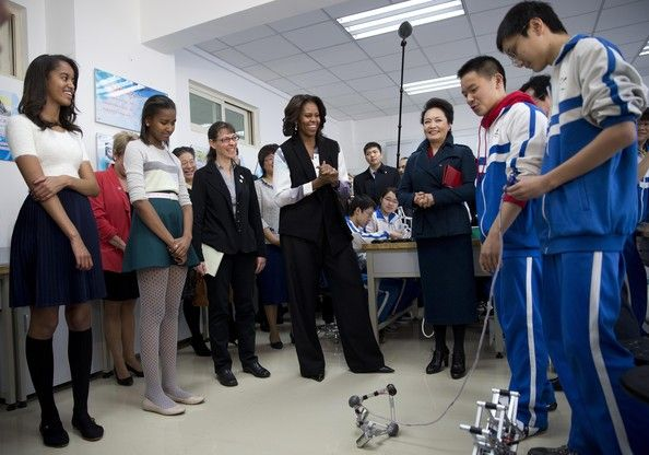 74165da7874d7 Malia Obama Photos - First Lady Michelle Obama Travels to China - Day 4 -  Zimbio
