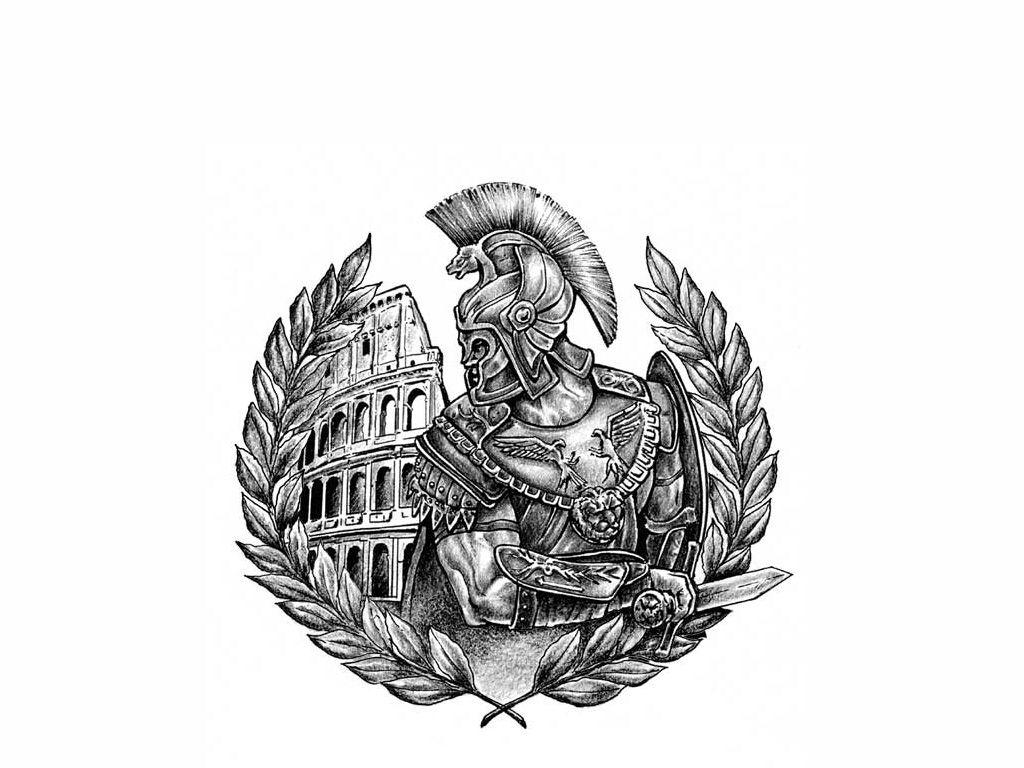 Gladiator Tattoo Spqr: Gladiator Tattoo