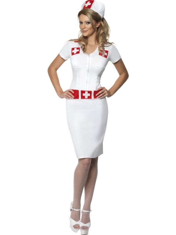 03d82765321 Nurse costume- this one s not terrible like most