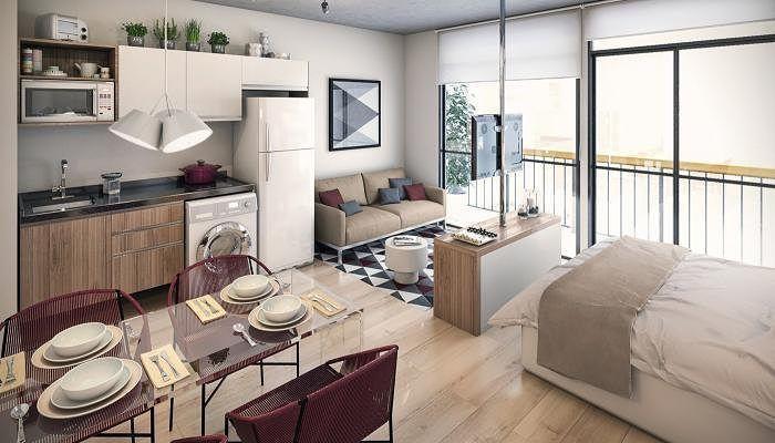 Новости The Home-y in 2018 Pinterest Studio apartment, Small
