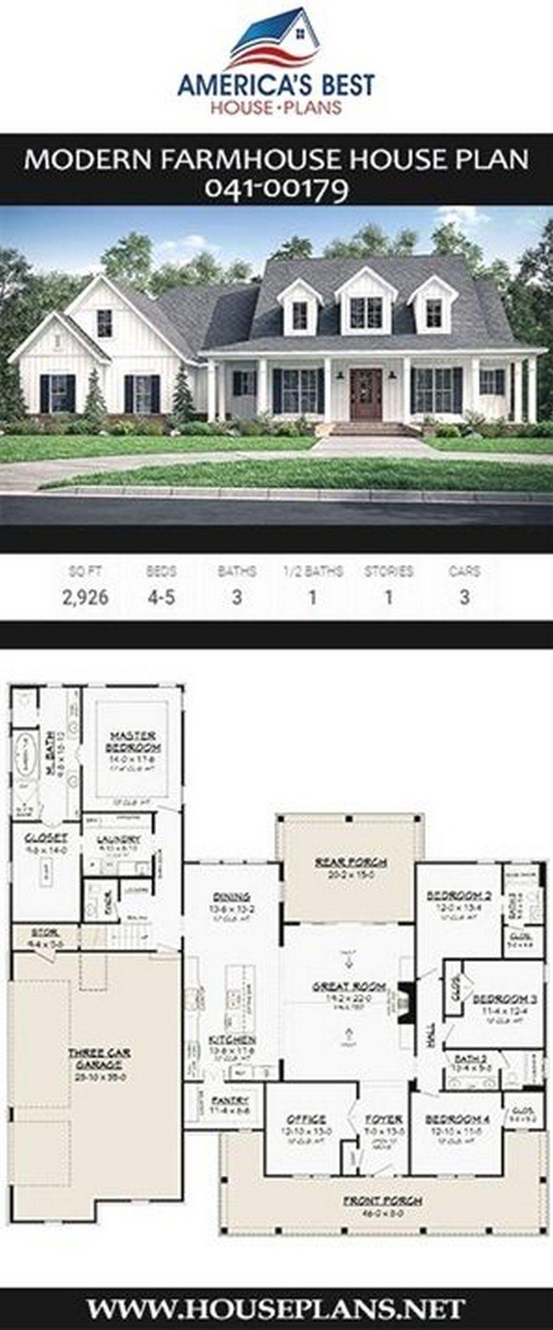 37 Stunning Farmhouse House Plans Ideas With Wrap Around Farmhouse Room House Plans Farmhouse Farmhouse Floor Plans New House Plans
