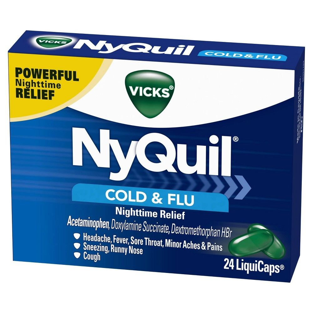 Can You Get Addicted To Nyquil Pin On Products