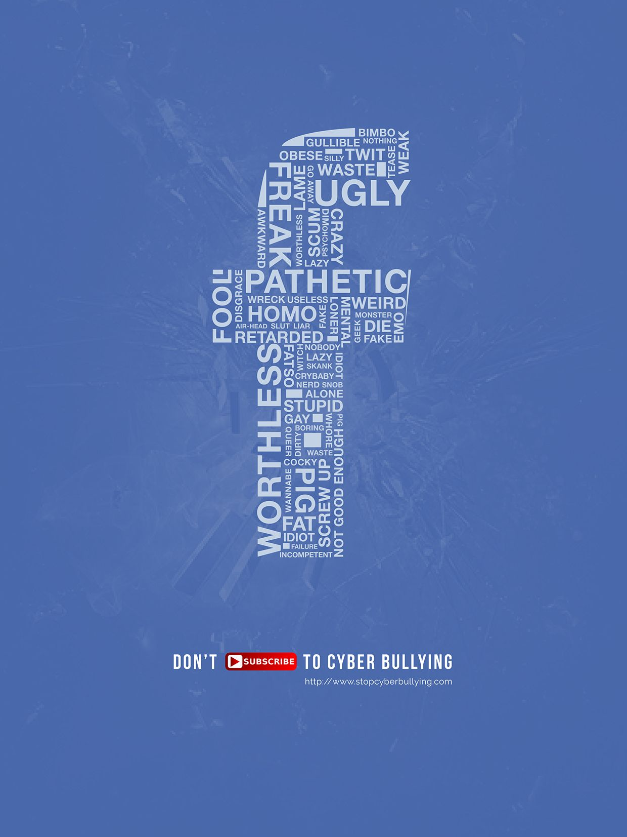 Cyber Bullying PSA Posters on Behance | Student Design Work from ...