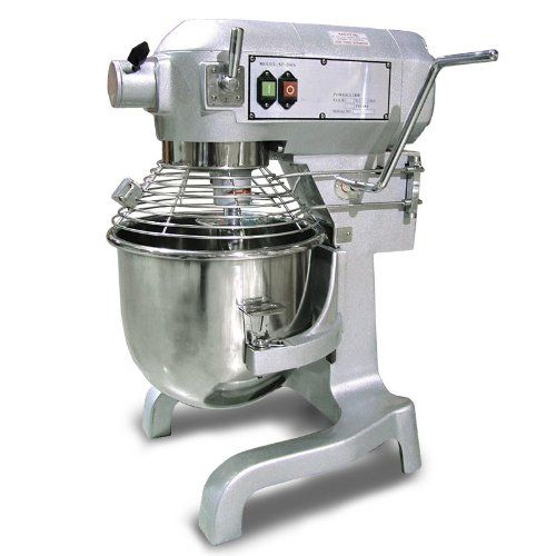 amazon com fma omcan food machinery sp200 20 quart general purpose mixer 3 speed w attachments electric stand mixers home kitchen