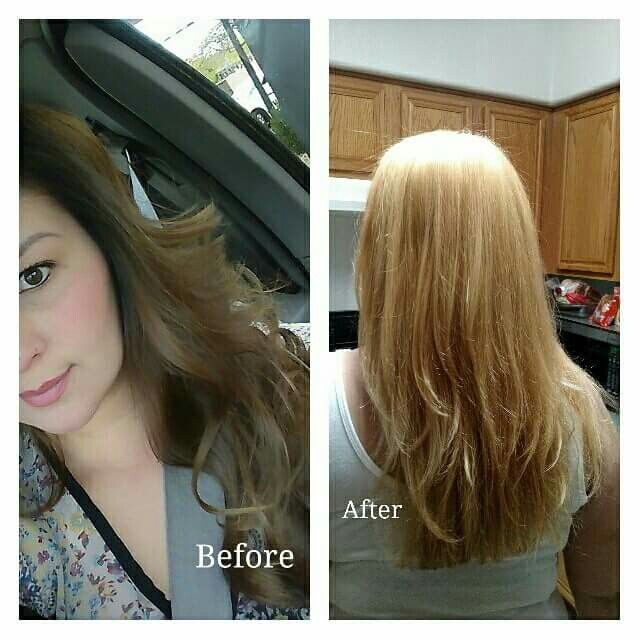 From light brown to golden blonde!!! For more follow me at www.instagram.com/beautyteasersbyvicky or on my channel www.youtube.com/beautyteasersbyvicky