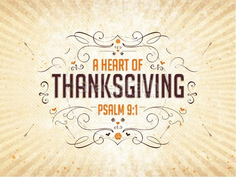 encourage a heart of thanksgiving with this autumn-inspired sermon, Modern powerpoint