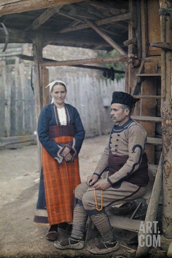rumelia: a Macedonian comitadji and his wife, somewhere inBulgaria, 1932.