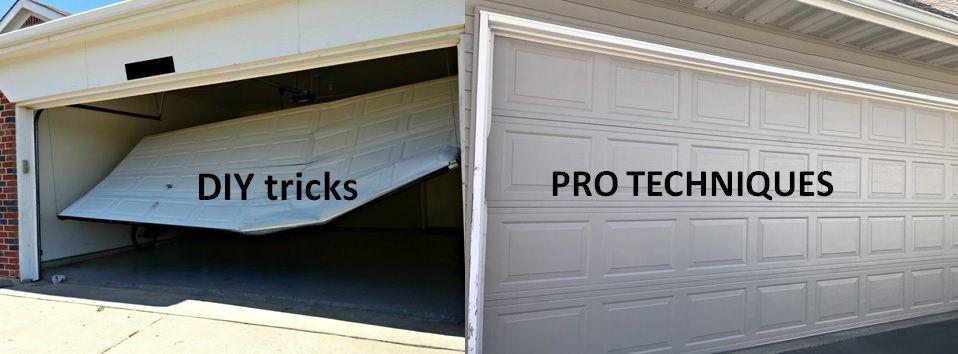 Why Choose Garage Door Services Over The Diy Techniques Garage Service Door Garage Doors Doors
