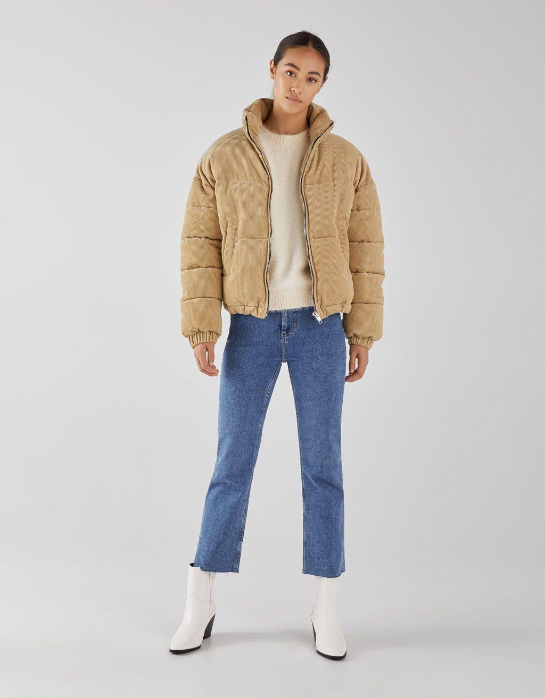 Corduroy Puffer Jacket Corduroy Puffer Jacket Jackets Puffy Winter Coat [ 1313 x 1024 Pixel ]