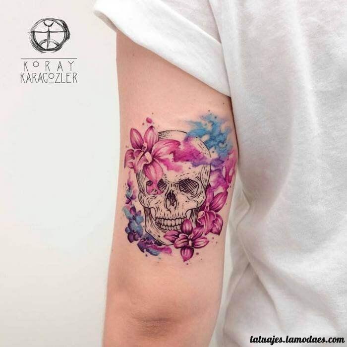 Grandes Ideas De Tatuajes Con Calaveras O Craneos Girly Tattoos Trendy Tattoos Skull Tattoo Design