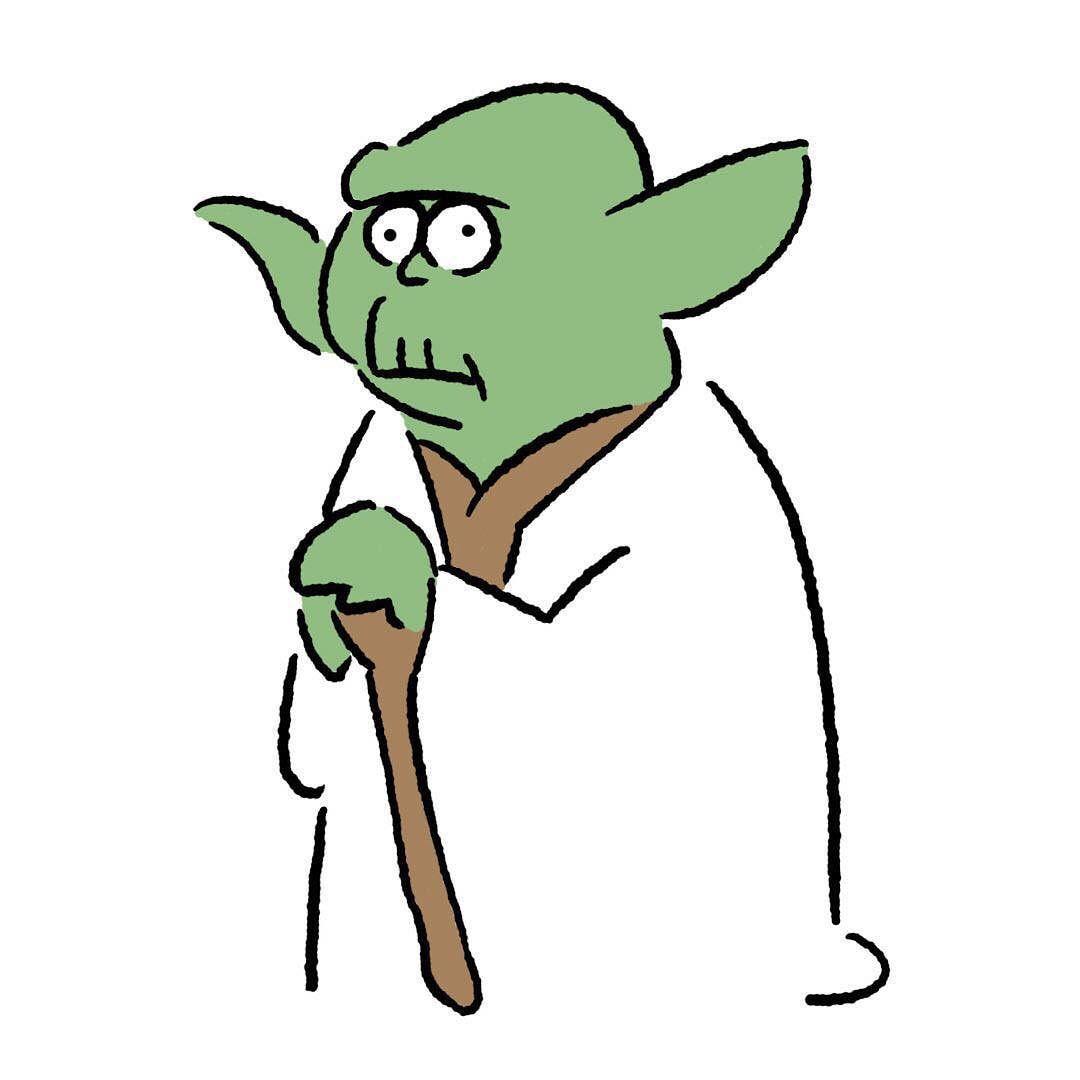 Yoda Yoda Jedi Starwars Maytheforcebewithyou Seijimatsumoto