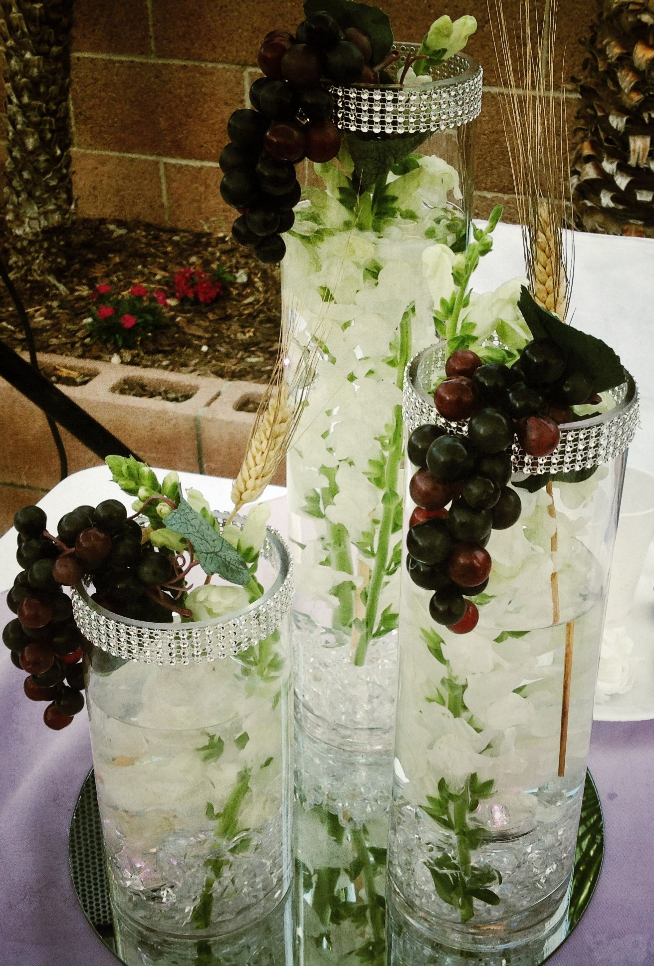 Table Center Piece Idea First Communion First Communion Table