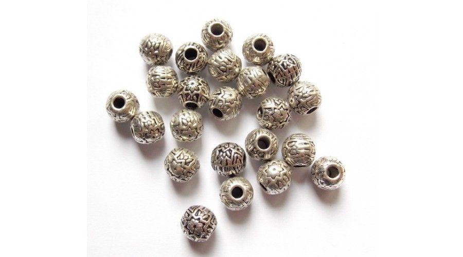 gömb alakú gyöngyök)