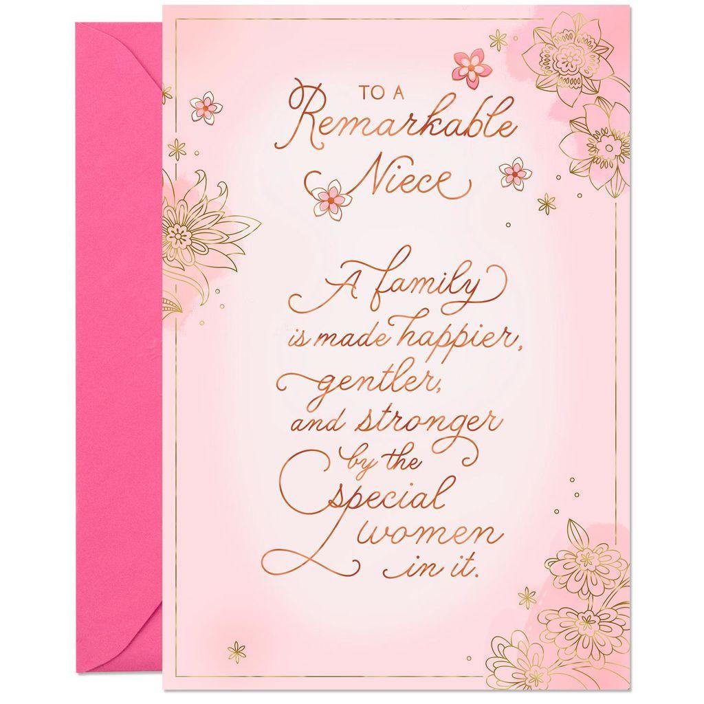 Wishing You Life S Best Birthday Card For Niece Greeting Cards Hallmark Aunt Agatha Birthday Cards For Niece Birthday Greeting Cards Birthday Cards
