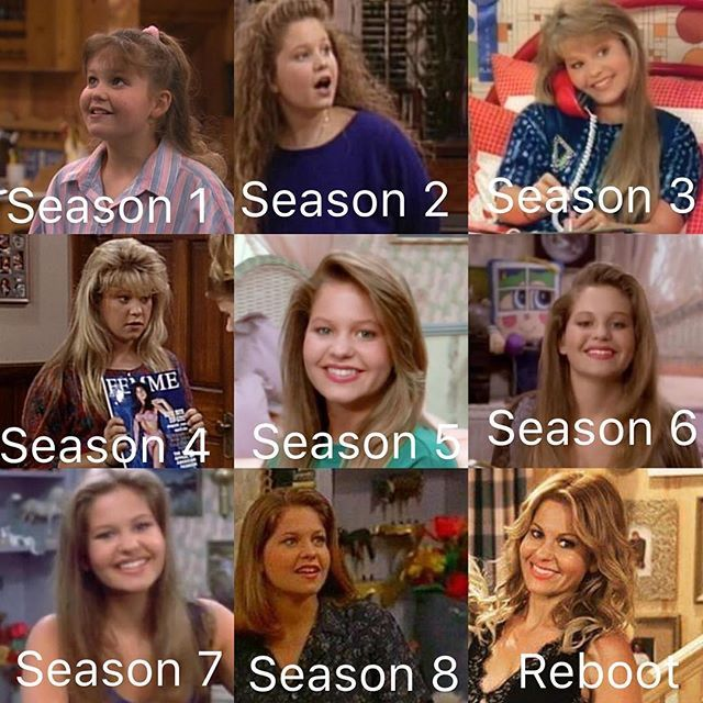 DJ Tanner through the years #djtanner #fullhouse # ...