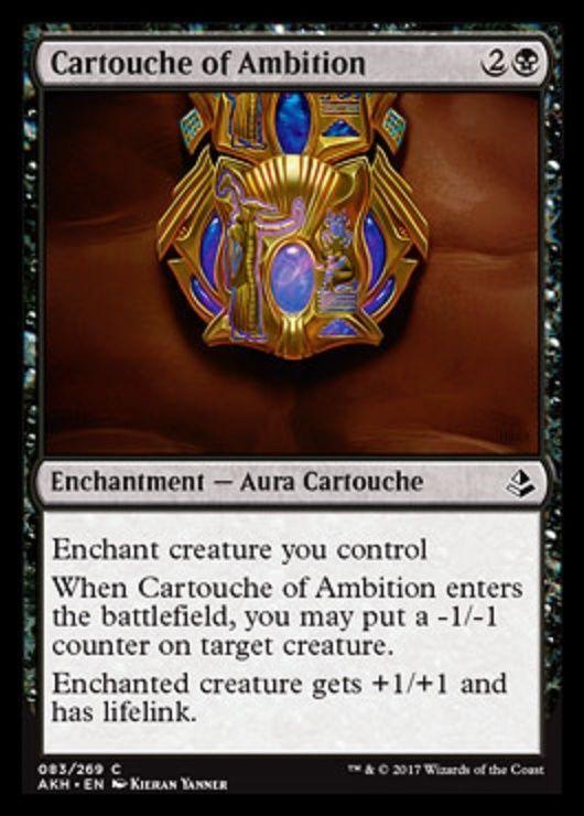 FOIL CARTOUCHE OF KNOWLEDGE X4 Amonkhet AKH Magic MTG MINT CARD